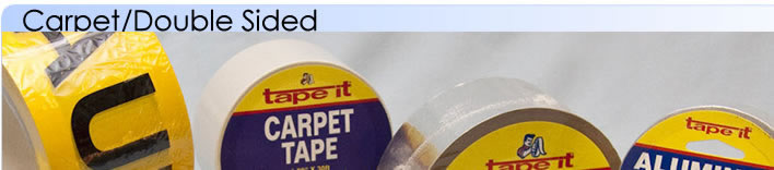 carpet/double sided tape